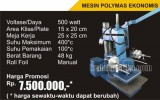 Mesin Polymas 15 x 20 Manual