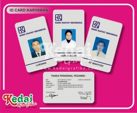 ID Card Karyawan Bank BRI